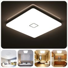 LED Ceiling Lights 24W Waterproof IP44 2050LM Natural White Warm White Led Ceiling Lights for Living Room Kitchen Bedroom Bathroom