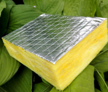 Roof insulating temperature centrifugal glass cotton lap blanket aluminum foil cover glass wool blanket