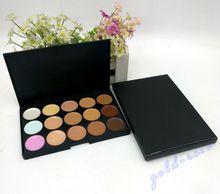 HOT Makeup Face Concealer Professional 15 color Concealer plate+FREE GIFT