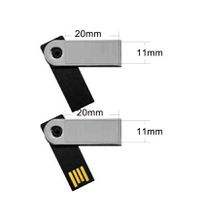 Mini USB Flash Drive swivel twist usb disk waterproof with OEM Logo 512mb 1gb 2gb 4gb 8gb 16gb 32gb