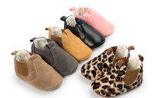Fur Baby Booties Crib shoes Warm Baby First Walkers Soft Sole Baby Prewalkers 0-18Months