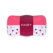 PABY PD1 GPS Pet Tracker & Activity Monitor with LED & Alarm Alert, Bubble Pink