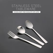 New product wholesale custom stainless steel fork spoon flatware tableware cutlery set