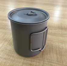 new products Titanium cup for outdoor product