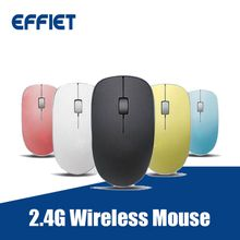 Factory price OEM Ergonomic 2.4G Optical Wireless Mouse silent click mute computer mice with nano receiver adjustable 1600 DPI for Mac PC