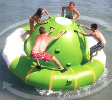 water gyro many size water game playing inflatable toy summer water park,water toy avoid summer heat