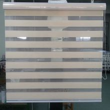 Zebra Blinds Double Layer Roller Blinds Translucent Curtain Custom Made Shade for Living Room Bedroom GY01-017