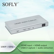 USB3.0 HDMI HD Video Capture card PS3/PS4/X-Box game capture recording DVD/TV/PC audio extracting
