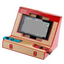 Foldable Stand Labo DIY Cardboard Creations Game Holder Kit Toys for NS Switch Paper Arcade Bracket