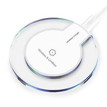 Qi Wireless Charger For iPhone X 8 Plus Charging Pad Mini for Samsung S6 S7 Edge Plus S8 Retail Package