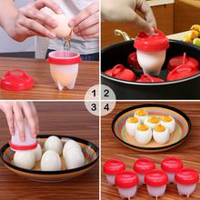 TV egg cooker boiler mold Egglettes egg silicon mold food grade BPA free baby food storage freezer tray container free shipping
