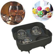 Silicone Ice maker 1 Pcs Silicone Ice cube mold silicone ice tray diy creative fruit ice cube maker bar kitchen accessories