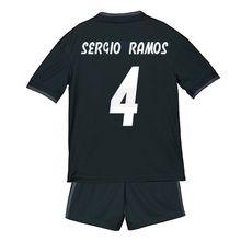 Children Madrid black Jersey set 2019 away black Kids Asensio Bezema Isco Modric Bale football shirts