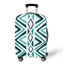 China Factory Sale Customized Popular High Quality Fashion Printed Elastic Luggage Cover