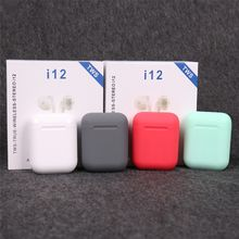 Original i12 TWS Wireless Earbuds Stereo Touch control Earphones Bluetooth 5.0 Earphone For iPhone xiaomi