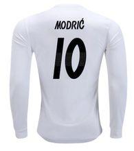 Modric home long sleeve Jerseys 2019 camiseta de futbol white BENZEMA BALE KROOS Soccer Jerseys long sleeve football shirts