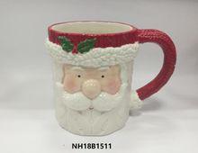 Christmas Santa Claus snowman ceramic mugs for kids