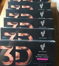 Younique Mascara 3D FIBER LASHES plus 1030 version Waterproof Double With Barcode and instruction fast shipping by dhl