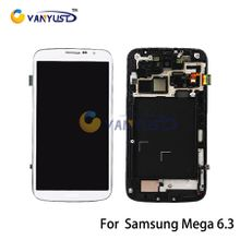 LCD Display Touch Digitizer Complete Screen Panels Full Assembly Replacement For Samsung Galaxy Mega 6.3 i9200 i9205