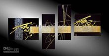 Modern Oil Painting On Canvas abstract painting Guaranteed 100% Free shipping YP651