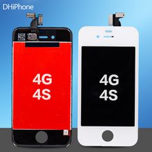 Cell Phone Accessories Best Quality For iPhone 4G LCD Display Touch Screen Digitizer 4G 4S