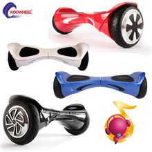 "2015 New 6.5"" & 8"" koowheel 2 wheel self balancing electric scooters RC car street culture for work air wheel self electric skateboard"