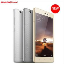 "Alinuola Xiaomi Redmi 3 4G LTE Cell Phone Snapdragon 616 Octa Core 5.0"" 2GB 16GB 13.0MP 4100mAh Metal Body MOQ 10"