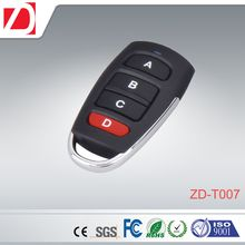 Wireless RF remote control for garage doors