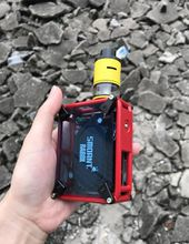 Smoant Rabox Semi-mechanical Voltage Regulator Box Electronic Cirgarattes CPU Chassis -Ray Box