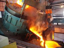 It is the key equipment in steel making factories, foundry factories, ferrous alloys