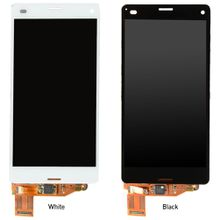 New Hot Sales Touch Screen Digitizer LCD Display For Sony Xperia Z3 Mini Compact D5803 Free Shipping