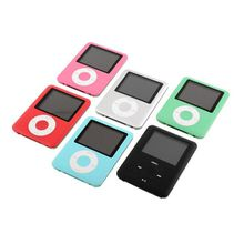 MP4 With Earphones 8GB 1.8inch Screen LCD Media Video Game Movie FM Radio 3th Generation MP4 Music Player