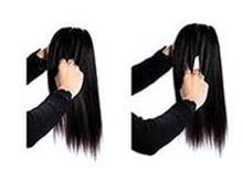 Lace Closure 8-20inch Straight Closure Natural Color With Bleached Knot