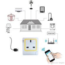 Monitor invigilator Watcher WiFi Wireless Smart Power Strip Sockets EU US Plug