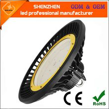 5 year warranty 120lm/w 100w 120W 150W 200W 240W ufo led high bay light for warehouse industrail lighting