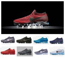 2017 Air Vapormax Plyknit Running Shoes for Mens Women Trainers Tennis 2018 Shoes Man Women Sports Authentic Sneakers Size 5.5-11