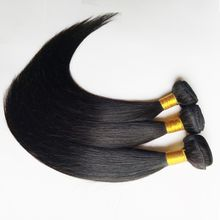 Brazilian human hair weft Virgin remy hair Jet black Natural black Straight Body wave Looes wave Kinky curly Support custom