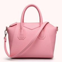 2017 New Trend Women tote shoulder bags Litchi pattern designer handbags PU leather crossbody bags 7 colors