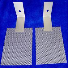 Titanium electrode mesh