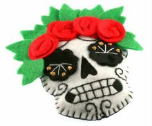 Unique new fashion hot sale items crafts gifts Halloween skull head decoration