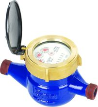 Multi jet dry dial water meter ( cast iron body )