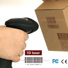 Cheap handheld laser usb barcode scanner with two connection ways( usb + 2.4G wireless)