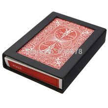 Close-Up Street Magic Trick Vanish Disappearing Vanishing Cards with Case Box Free Shipping order<$18no track