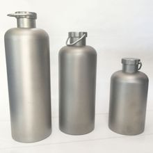 Titanium Portable Outdoor Bottle and Cup Camping for high quality