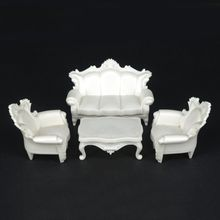 Interior model building supplies, model furniture, 1:20, 1:25 scale Sofa Model set