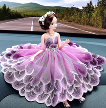 The car was married to a barbie doll