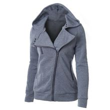 Top Selling 7 Design Plus Size Ladies Hooded Jacket Long Sleeve Women Hoodies Sweatshirts Zipper Blazer Fashion Jacket CL047