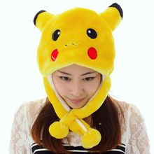 WINTER cap cosplay Beanies hat many styles cartoon hat Anime Pocket Monsters Pikachu performances props Plush Fashion hat Pocket Monster