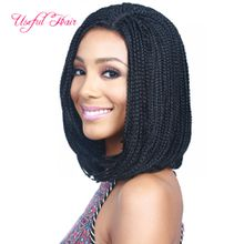 Brazilian blonde wigs 6inch 18inch 14inch bob wigs for black women synthetic lace front wigs short lace front wig cheap braids