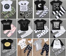 Baby boy/Girl Clothing suits Children Clothing Set Newborn Baby Clothes Cotton Baby sets 140 styles for choose